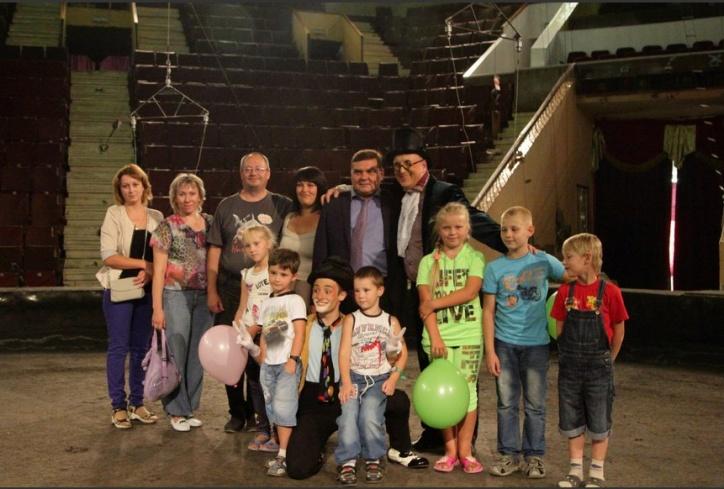 Рязанский цирк пригласил детей