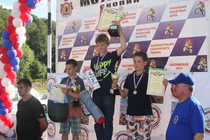 В Рязанской области прошли соревнования по мотокроссу Efda49a4772d699092c987eca7882de2