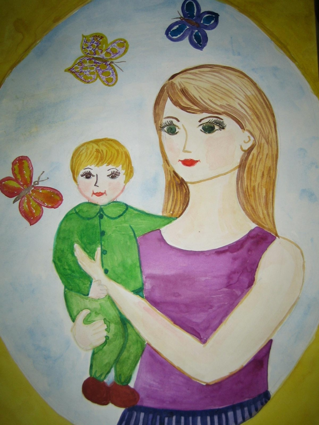 Картинки материнство 4 класс